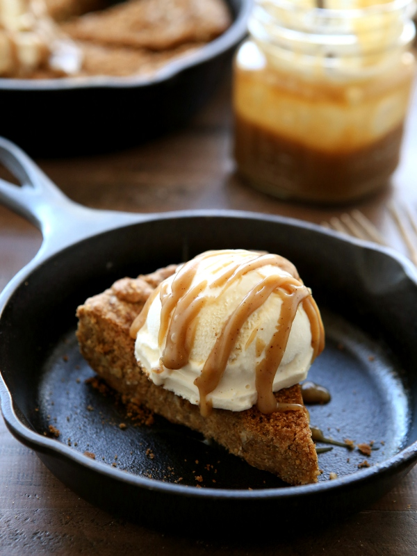 Brown Butter Skillet Cookie 3
