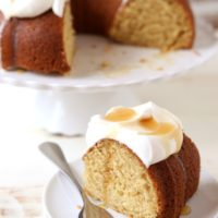 Maple Bundt Cake | completelydelicious.com