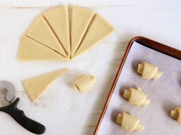 Crescent Dinner Rolls | completelydelicious.com