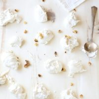 Divinity Candy with Walnuts