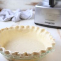 How to pie crust in a food processor | completelydelicious.com