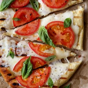 How to grill pizza | completelydelicious.com