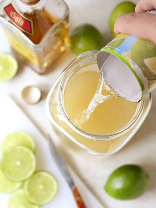 Tin Can Margaritas -- perfect for a crowd!   completelydelicious.com