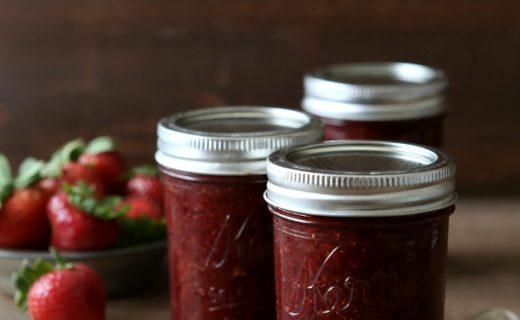 The Best Strawberry Jam