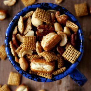 Maple Nut Snack Mix from completelydelicious.com