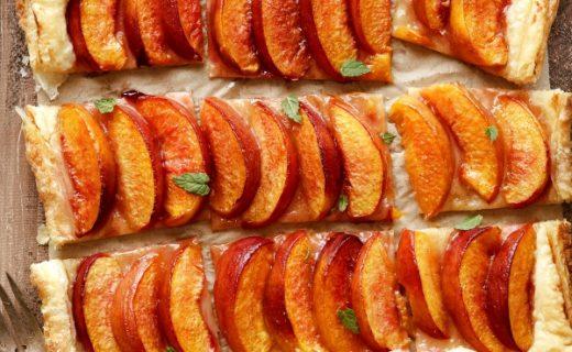 Easy Summer Fruit Puff Pastry Tart