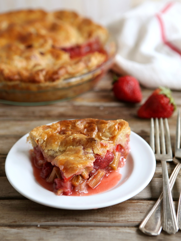 Strawberry Rhubarb Pie Completely Delicious