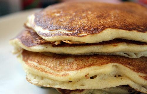 Brown Butter Buttermilk Pancakes