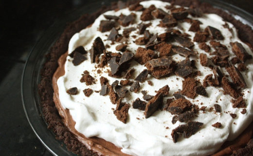 Chocolate Thin Mint Pie