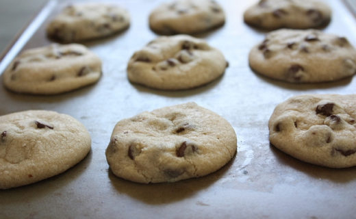 Dashboard Chocolate Chip Cookies