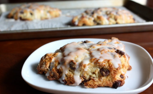 Bacon Chocolate Chip Scones