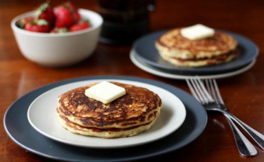 Small batch buttermilk pancakes