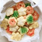 Holiday Spritz Cookies | completelydelicious.com
