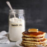 Homemade buttermilk pancake mix for easy pancake making anytime.