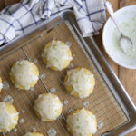 Cornmeal lime cookies are a fun and unexpected treat
