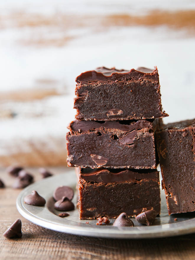 These triple fudge brownies are truly the fudgiest brownies you will ever eat!