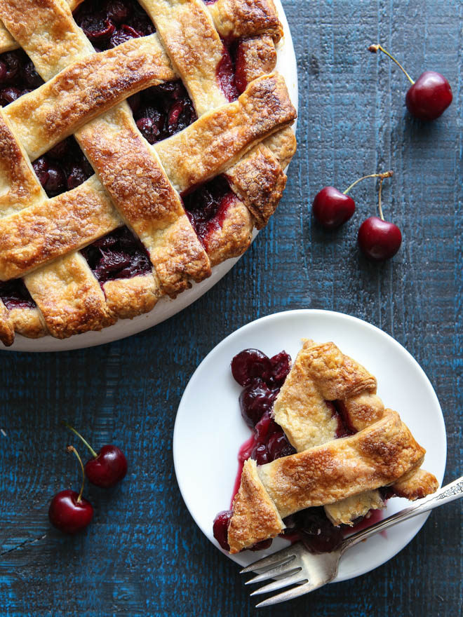 Try a slice of this sweet cherry pie