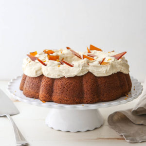 This Caramel Bundt Cake is a fall favorite!