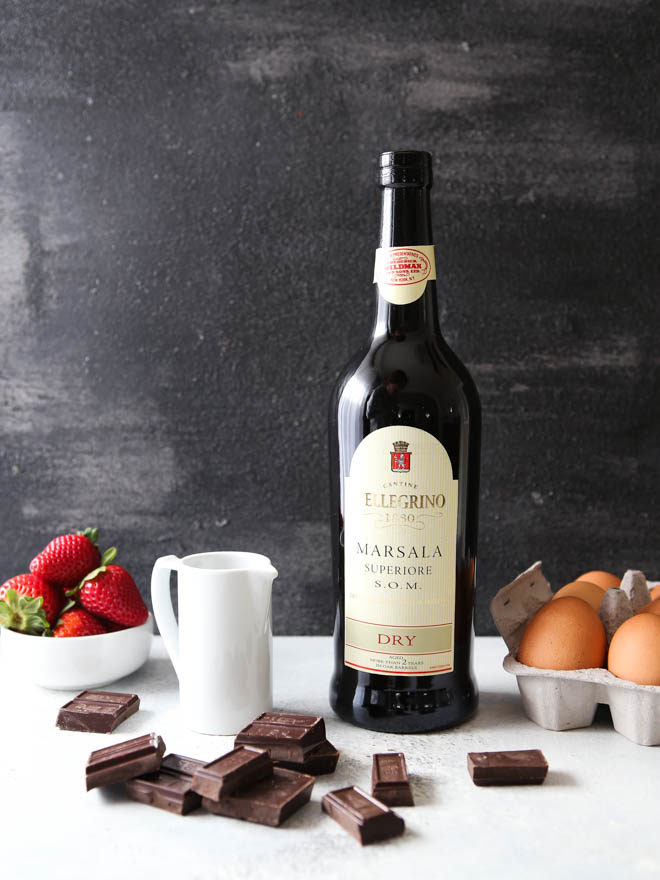 "Chocolate ""zabaglione"" or wine sauce is rich and decadent!"