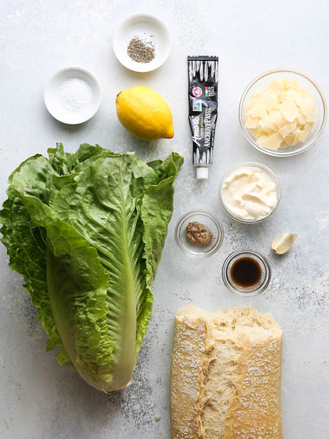 How to make the best homemade Caesar salad