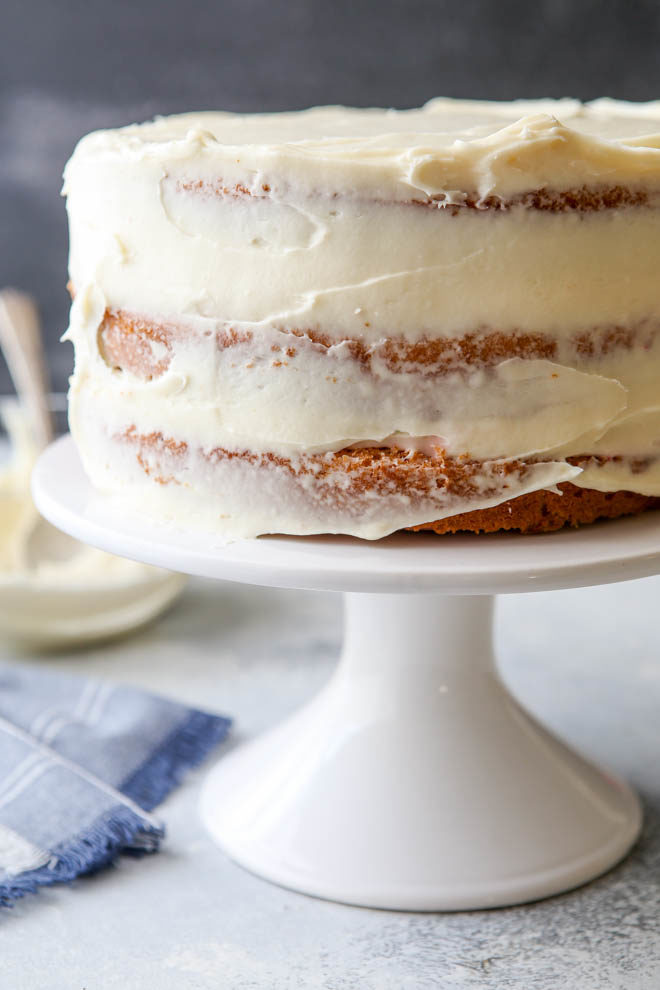 The creamiest cream cheese frosting