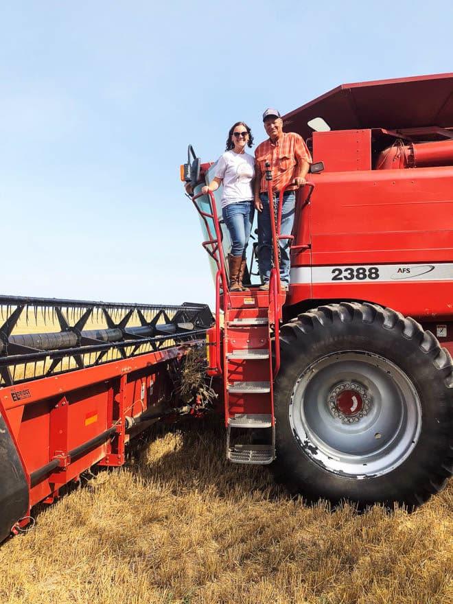 With Kansas farmer Scott Van Allen