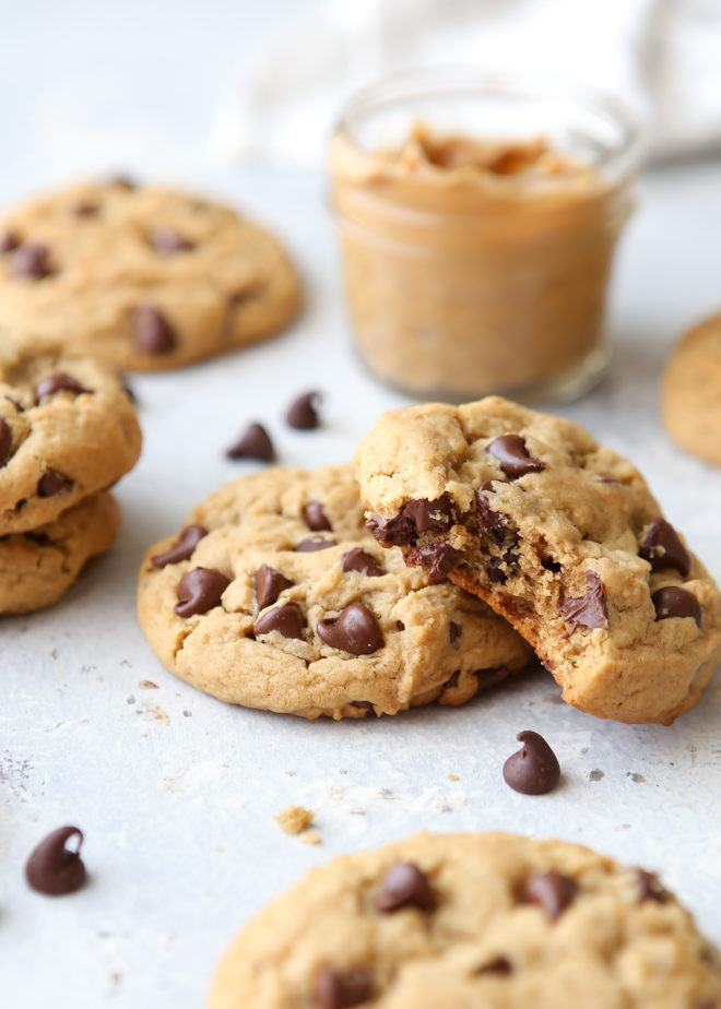 Peanut Butter Chocolate Chip Cookies Completely Delicious