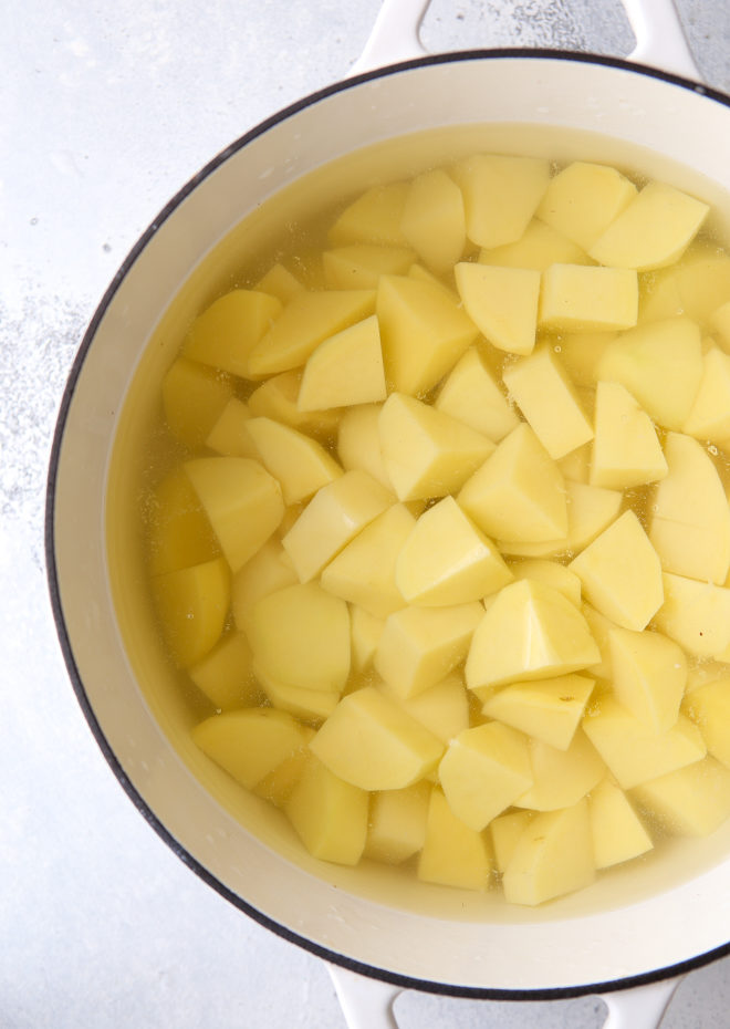 How to make the best mashed potatoes - start with cold water