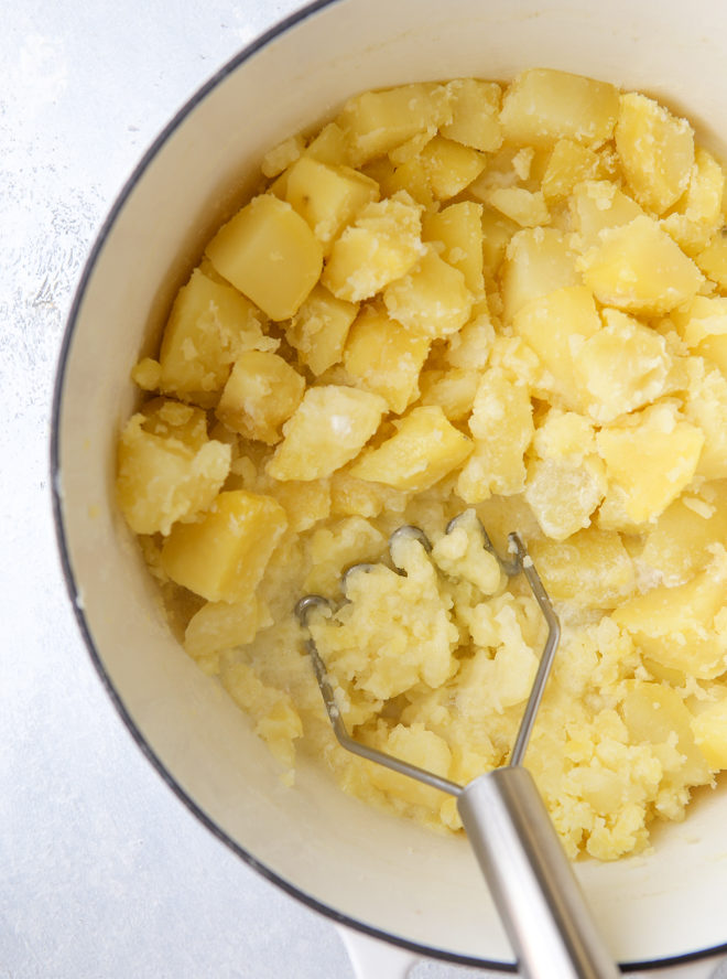 How to make the best mashed potatoes - don't overwork