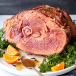Citrus Spice Glazed Ham is an easy but impressive main dish