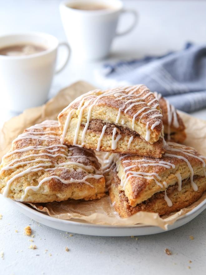 Cinnamon-Sugar Scones - Completely Delicious