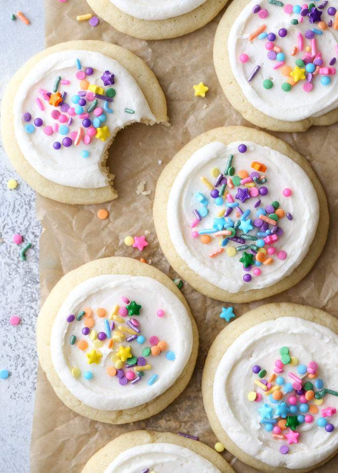 Soft and flavorful, these no-chill, no-roll sugar cookies really are the easiest you'll ever bake.