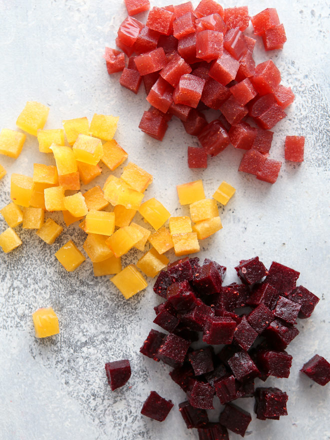 You only need a few ingredients to make homemade fruit snacks!