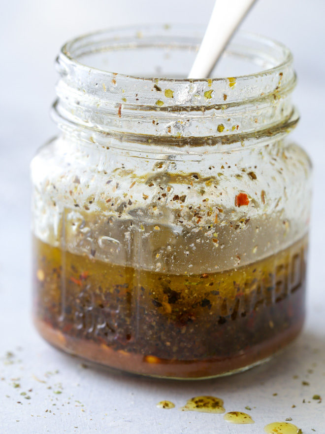 Homemade Italian dressing is easy to make at home!