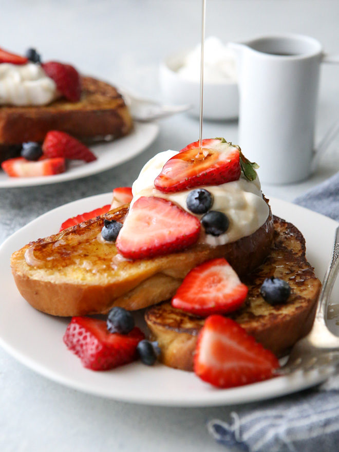 This classic but elegant french toast is rich and flavorful, and anything but boring!