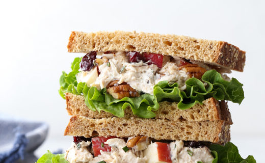 Chicken Salad with Pecans, Apples, and Dried Cherries