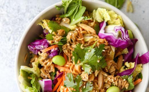 Asian Ramen Cabbage Salad