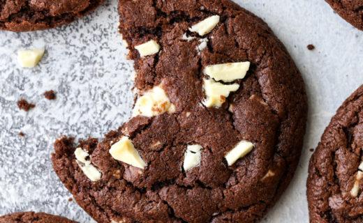 Chocolate and White Chocolate Chunk Cookies