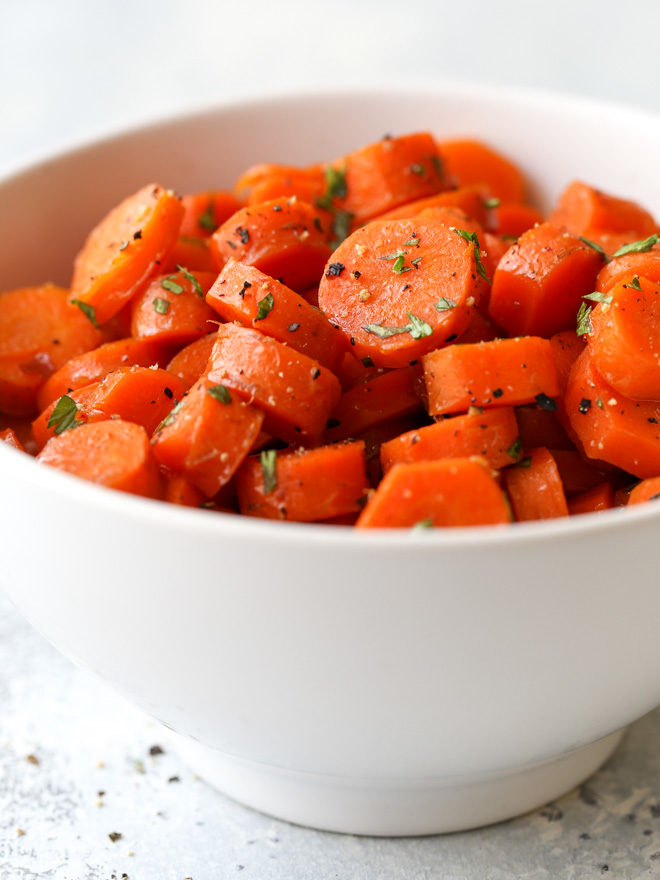 These sweet and savory brown sugar glazed carrots are the perfect side dish to any meal!