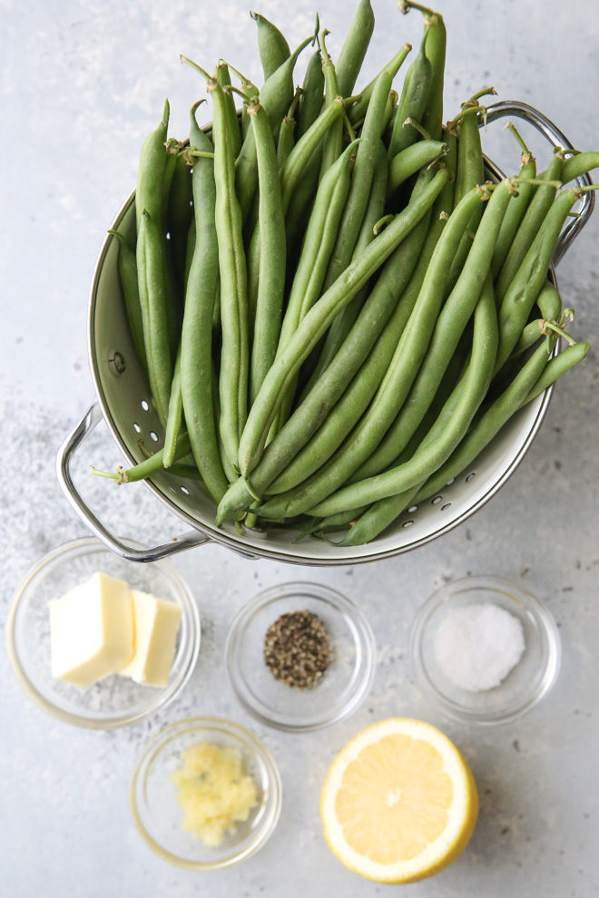 Just 5 ingredients needed for these buttery garlic green beans
