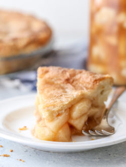 Homemade apple pie filling makes fall baking a snap!