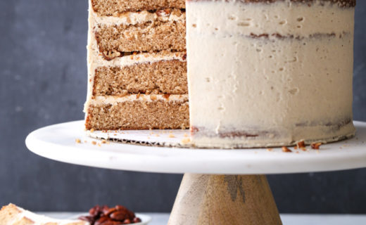 Brown Sugar Cinnamon Layer Cake