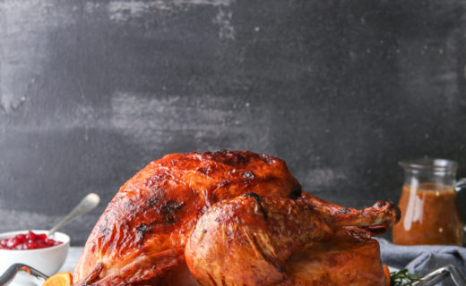 Dry-Brined Roasted Turkey