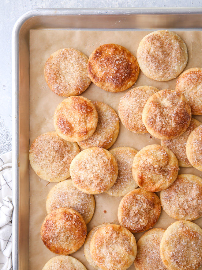 These pie crust cookies are a fun and delicious way to use up leftover pie crust scraps!