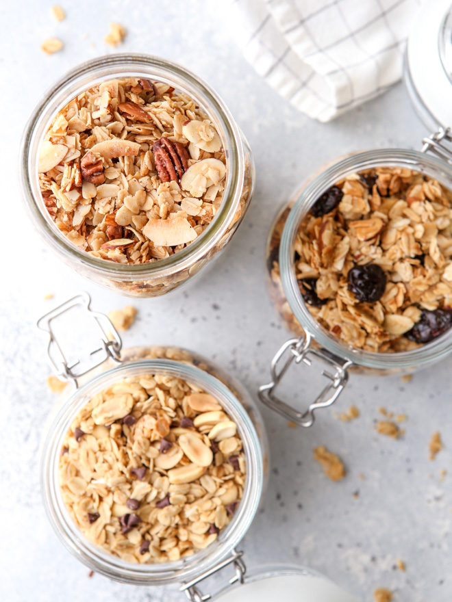 Here's how to make easy homemade granola to fit your cravings or what you have already in your pantry.