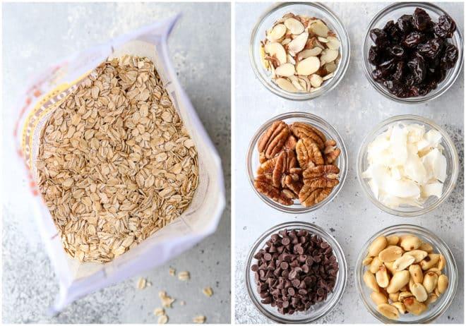 granola mixins