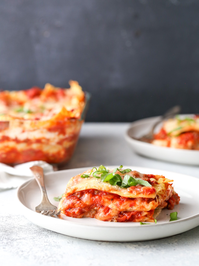 Classic Meat Lasagna Completely Delicious