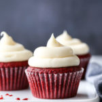 You just can't beat a classic, and these tender and moist red velvet cupcakes with rich cream cheese frosting are about as good as it gets.