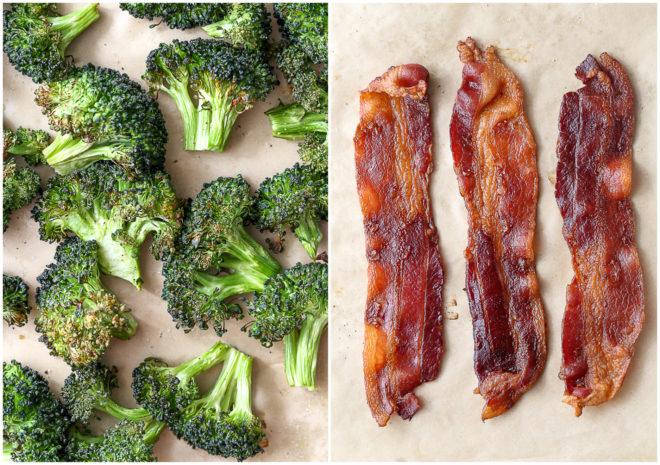 broccoli and bacon