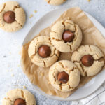 peanut butter blossom cookies are a nostalgic classic